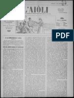 L'Aiòli. - Annado 07, n°250 (Desèmbre 1897)
