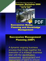 Succession Management Planning