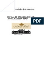 Manuales Hotel Mansion Real