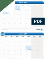 calendrier mensuel-2014
