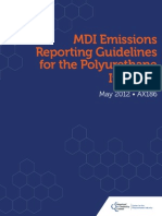 MDI Emissions Reporting Guidelines for the Polyurethane Industry