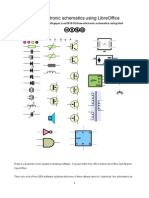 Electronics schematics in LibreOffice Draw