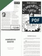Docc Hilford - Rasputin's Secret