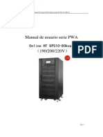 PWA Series Spanish User Manual 2014 8