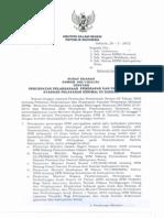 Surat Edaran Mendagri 2013 SPM
