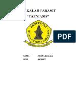 TAENIASIS Epdemiollogi Penyakit.docx