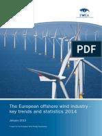 EWEA European Offshore Statistics 2014