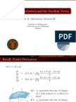 01 Directional Derivatives and Gradient - Handout