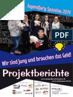 Projektbericht der Jugendjury Spandau 2014