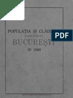 Populatia si Cladirile Bucuresti 1948