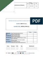 Chinalco Tormocho-dimatic-proc de Resanes Exterior de Sala Electrica 210-Er-010-25072013-Rq-2