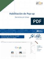 Activacion de Popu Nuevo Portal SIVALE