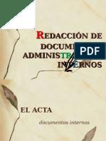 Documentos  Administrativos INTERNOS.ppt