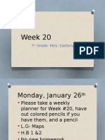 week 20-7th