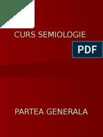 Curs Semiologie Generala