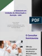 Consultoria e Acessoria em Unidade de Alimentação e Nutrição