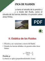 ESTÁTICA DE FLUIDOS ICH
