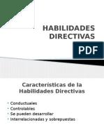 Habilidades Directivas y Motivacion