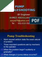 Pump Troubleshooting