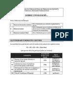 Avaluació DEFEP F 13 14