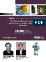 HDC Conference Robotic Medicine PPT