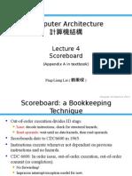 Chapter 4 Scoreboard