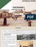 Economía e Sociedade na España do s. XIX