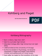 Kohlberg and Piaget.ppt