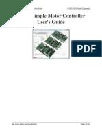 Simple Motor Controllers Manual