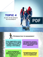 Topic 4 PB201 Basic of Business Management June2013 Student