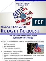 FY16 Defense Budget Request Rollout Final 2-2-15
