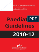 Paediatric Guidelines 2010