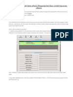 Cara mengambil data absen fingerprint dan cetak laporan absen.docx