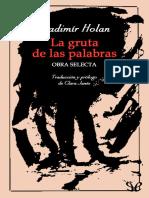 Holan, Vladimir - La Gruta de Las Palabras [18307] (r1.0)
