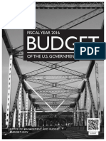FY 2016 White House Budget