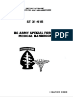 Military - Us Army - Special Forces - St 31-91B - Medical Handbook