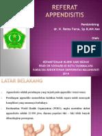 Slide Referat Appendicitis