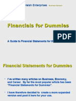 Financials for Dummies