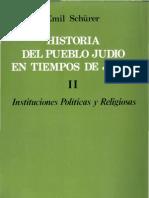 Schurerl Emil - Historia Del Pueblo Judio en Tiempos de Jesus Tomo II