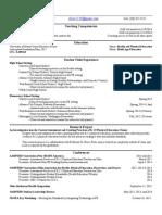 teaching resume edited 2-2-15