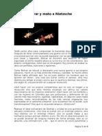 Mato a Bolívar y Mato a Nietzsche - Frank David Bedoya Muñoz - Enero de 2015