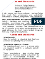 Codes and Standards