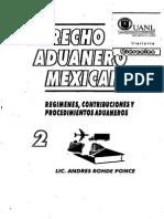 Derecho Aduanero Mexicano 2