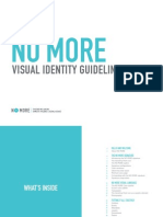 No More Visual Identity Guidelines