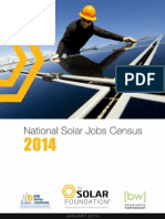 TSF National Solar Jobs Census 2014