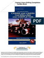 Casing Liners Drilling Completion Guides