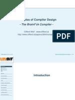 Basics of Compiler Design in c