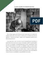 Sexo, poder y gobierno. Michel Foucault