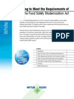 Food Safety Modernization Act en 1014