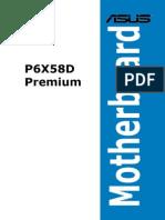 Manual Placa Base ASUS p6x58d